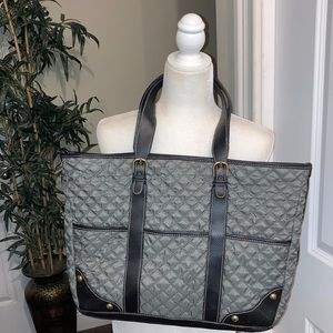 OLD NAVY QUILTED LARGE TOTE HANDBAG